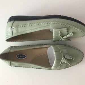 Dr. Scholl's Leather Kiltie Tassel Loafers size 6W